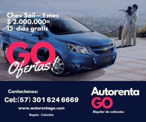 Ofertas carros particulares Bogota