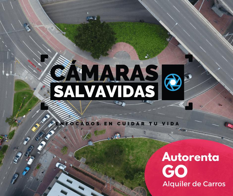 Localizacion de camaras Salvavidas en Bogota