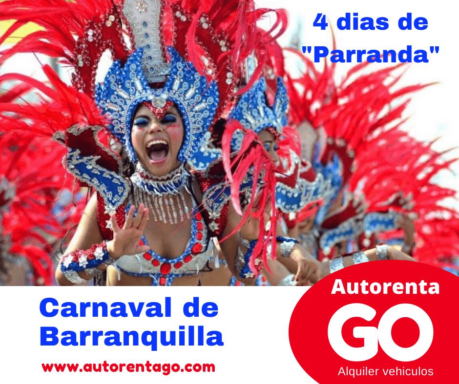 A donde ir en carnaval de Barranquilla